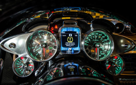 Pagani Interior HD wallpaper