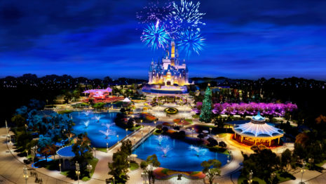 Shanghai Disneyland HD wallpaper