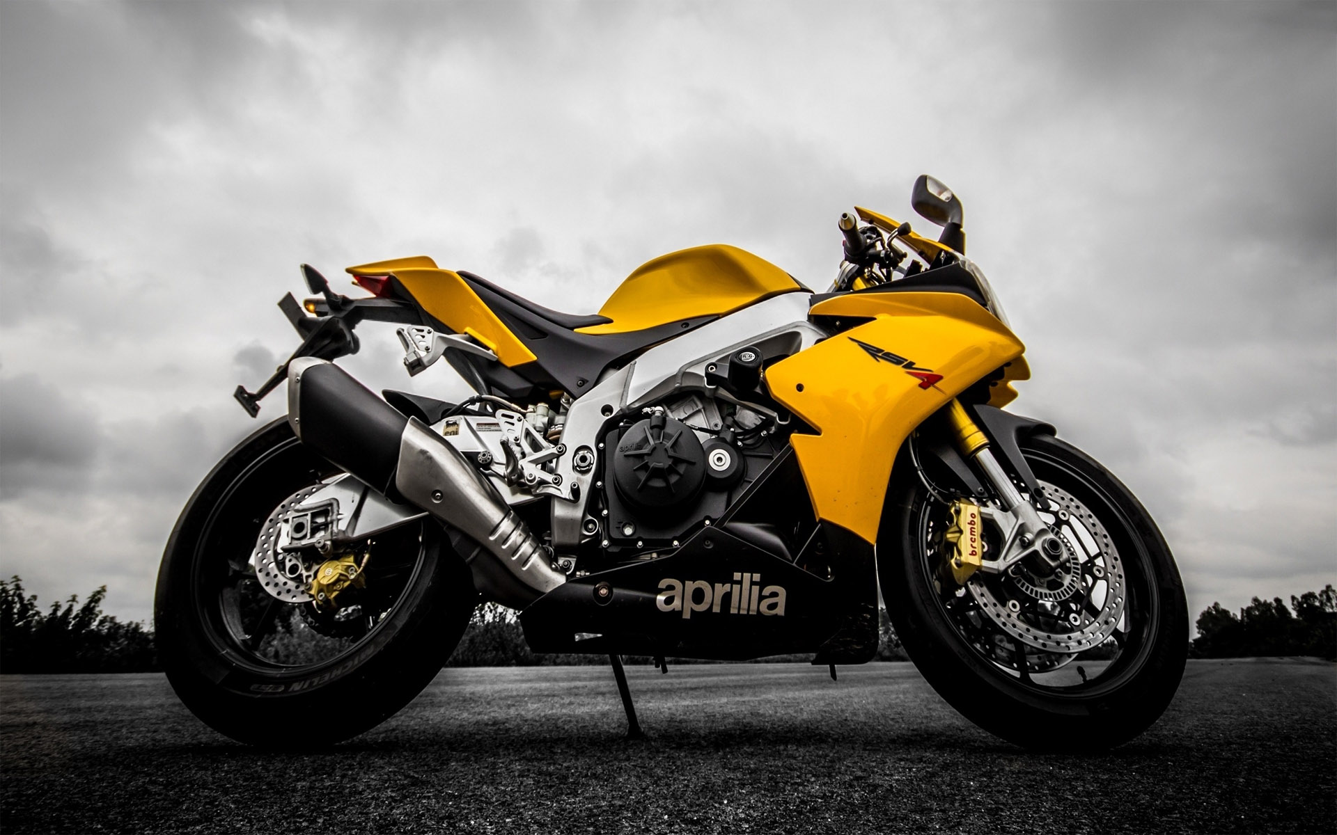 Aprilia Rsv4 HD Wallpaper