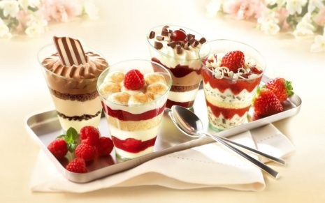 Ice Cream Desserts HD wallpaper