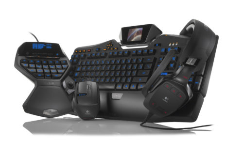 Logitech G19 gaming pack HD wallpaper