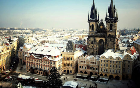 Prague HD wallpaper