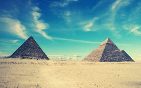 Pyramids, Egypt HD wallpaper