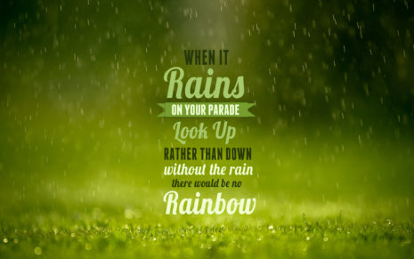 Rainy Day Quotes HD wallpaper