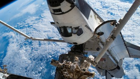 Shuttle Iss HD wallpaper