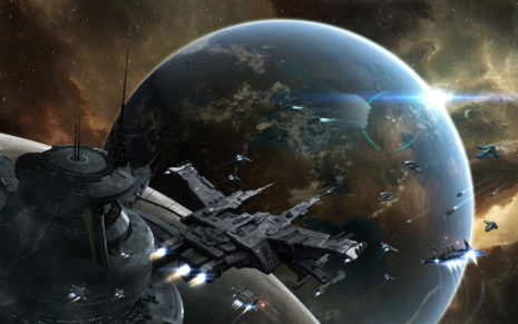 Space attack HD wallpaper