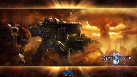 Starcraft 2 Terran HD wallpaper