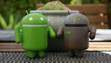 Android couple HD wallpaper