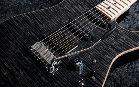 Black Guitar HD wallpaper