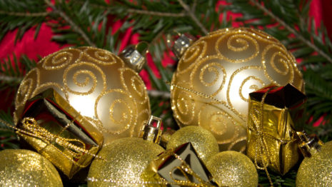 Christmas new Ornaments HD wallpaper