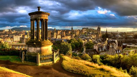 Edinburgh Scotland HD wallpaper