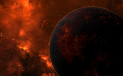 Eve Online Planets HD wallpaper