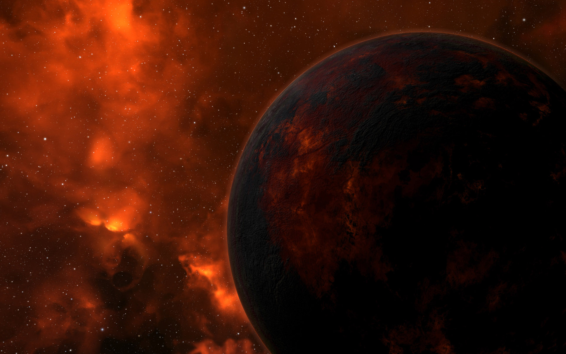 Eve Online Iphone Wallpaper: Eve Online Planets HD Wallpaper