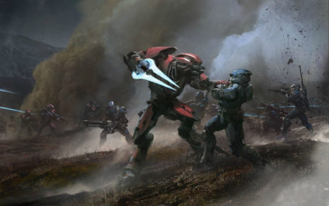 Halo Reach Monster attack HD wallpaper