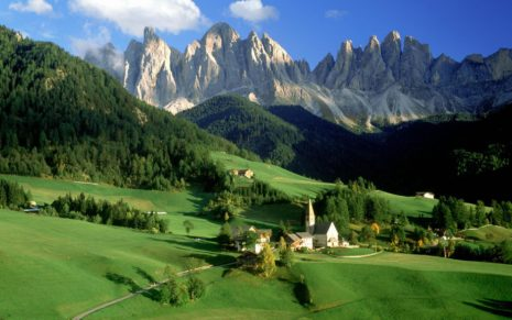 Italian Landscape HD wallpaper