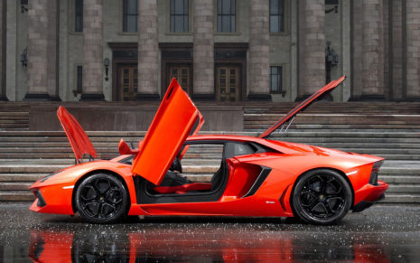 Lamborghini Aventador LP700-4 HD wallpaper