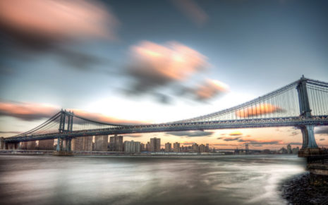 Manhattan Bridge HD wallpaper