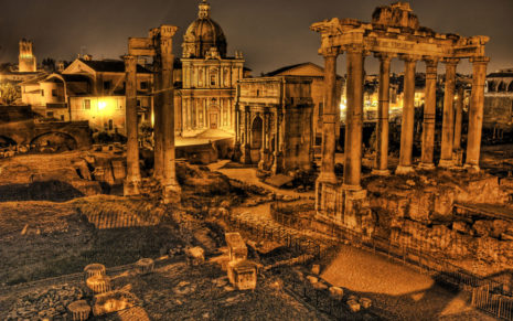 Old Rome City HD wallpaper