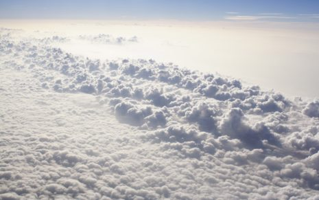Above Clouds HD wallpaper