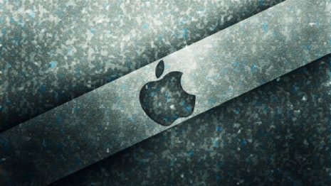 Apple gradient logo HD wallpaper