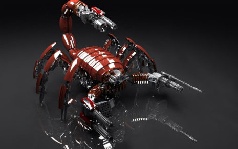 Armed Insect toy HD wallpaper