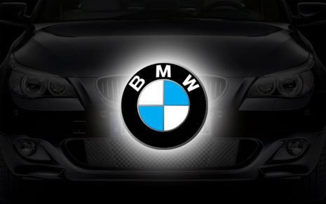 BMW logo art HD wallpaper