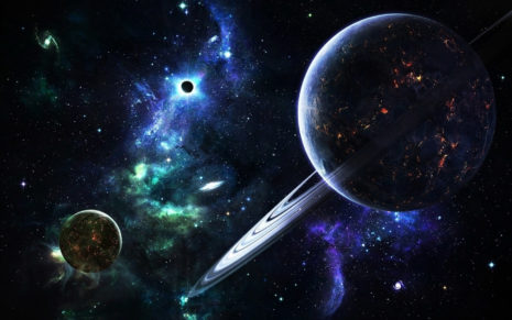 Big planets HD wallpaper