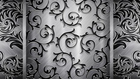 Black & White Patterns HD wallpaper