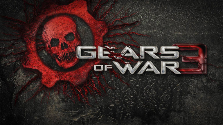 Gears of war 3 Logo HD wallpaper