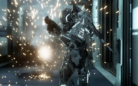 Halo 4 action HD wallpaper