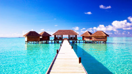 Maldives architecture HD wallpaper
