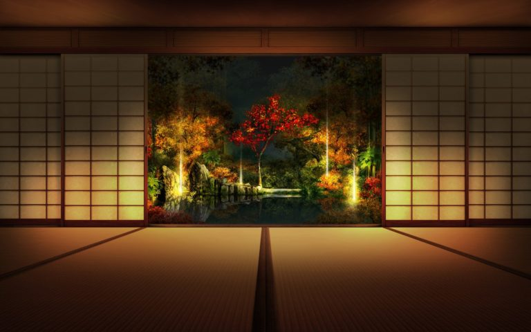 Marvelous Japanese Interior HD wallpaper