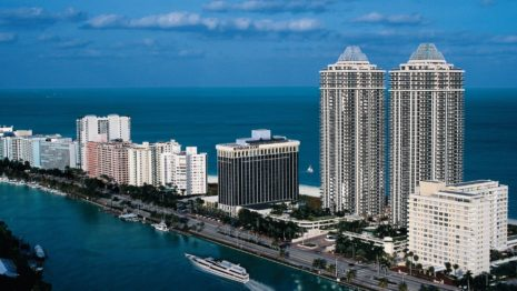Miami Beach Resort HD wallpaper