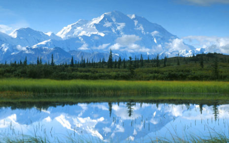 Monte Mckinley Alaska HD wallpaper