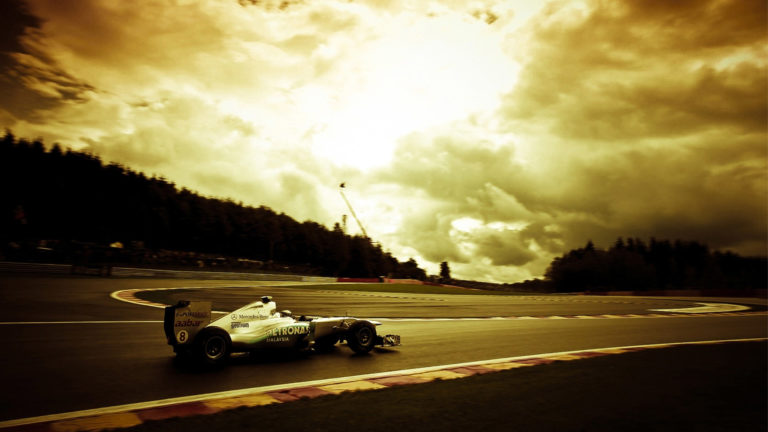 Sepia Formula 1 HD wallpaper