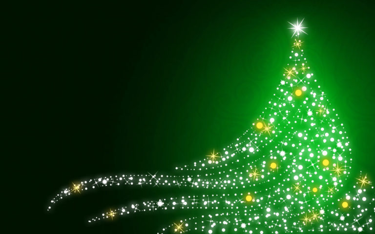 Sparkling Christmas HD wallpaper
