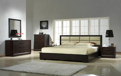 Steel bedroom furniture