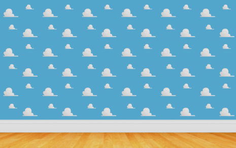 Toy Story wall pattern HD wallpaper