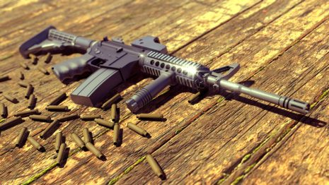 Beautiful Assault Rifle HD wallpaper