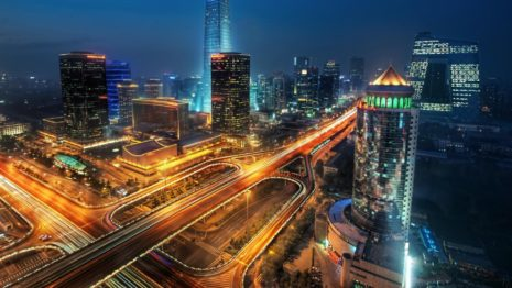 Beijing city of China HD wallpaper