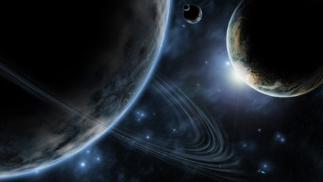 Bigger Planets HD wallpaper