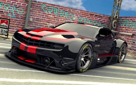 Black Chevrolet Camaro HD wallpaper