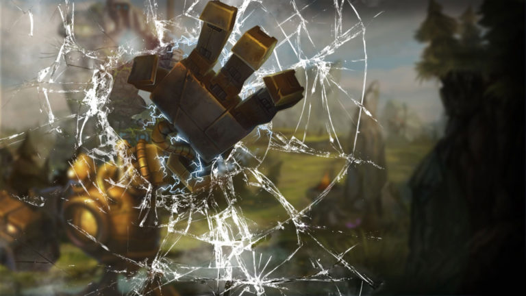 Blitzcrank League of Legends HD wallpaper