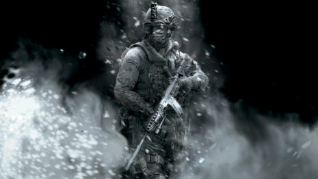 COD military in snow HD wallpaper