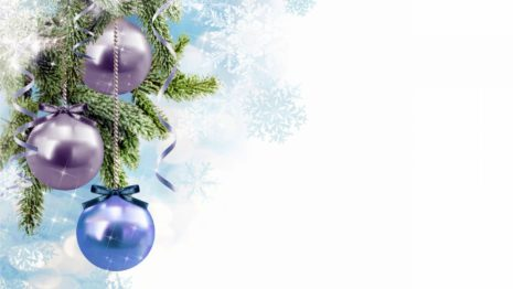 Christmas bauble decorations HD wallpaper