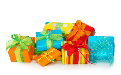 Colorful gift boxes HD wallpaper