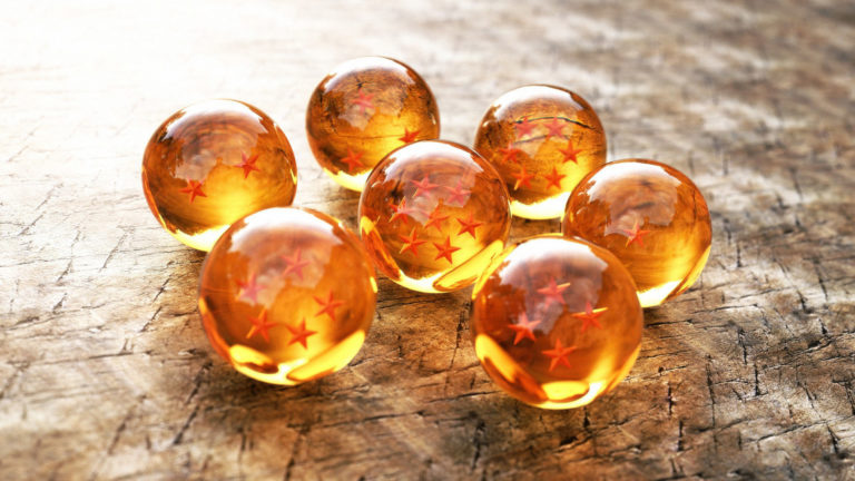 Dragon Balls HD wallpaper