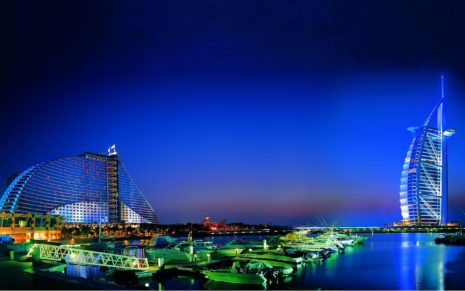 Dubai Nightlife HD wallpaper