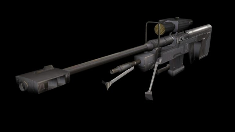 Halo 3 Sniper Rifle HD wallpaper 1
