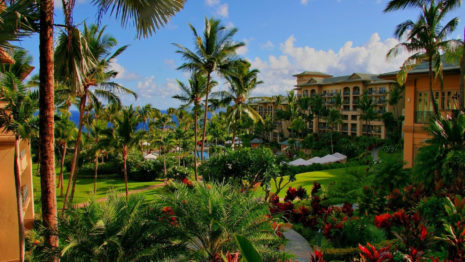 Hawaiian hotel HD wallpaper